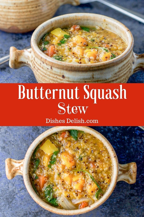 Butternut Squash Stew for Pinterest