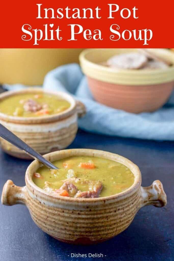 Instant Pot Split Pea Soup for Pinterest 2