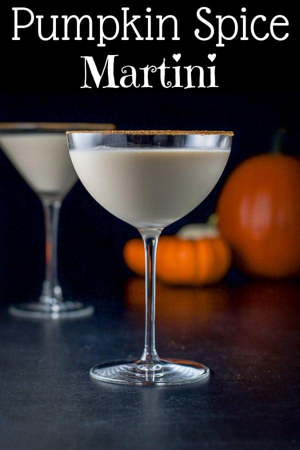 Pumpkin Spice Martini for Pinterest