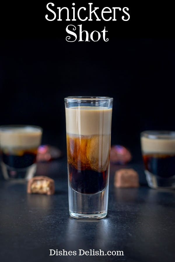 Snickers Shot for Pinterest