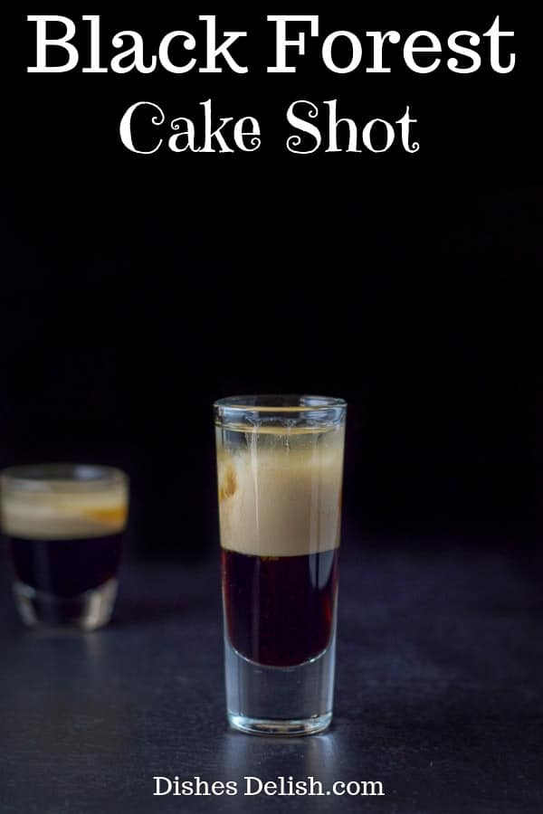 Black Forest Cake Shot for Pinterest