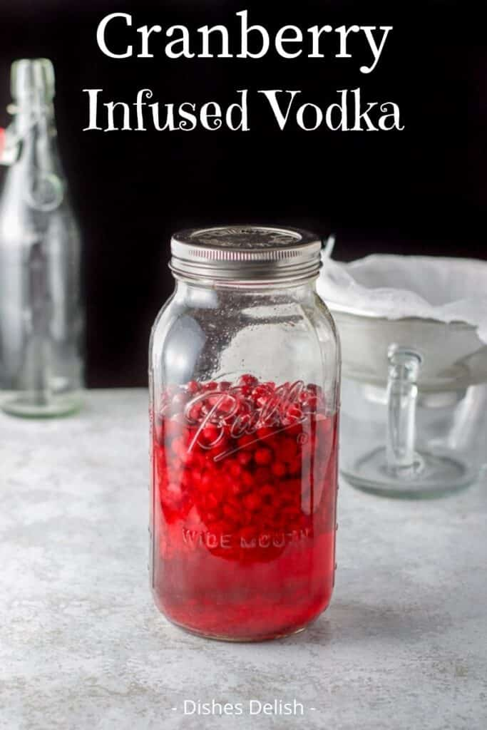 Cranberry Infused Vodka for Pinterest 2