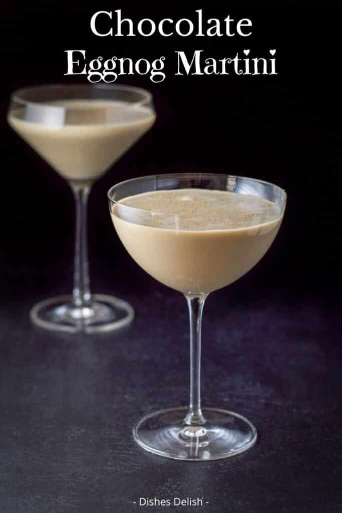 Chocolate Eggnog Martini for Pinterest 2