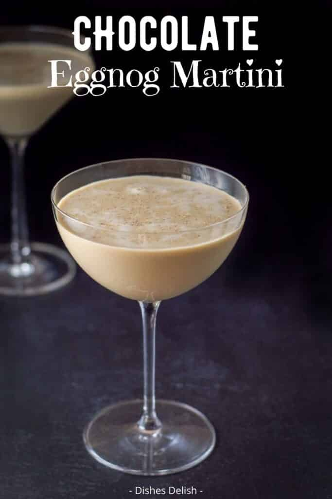 Chocolate Eggnog Martini for Pinterest 3