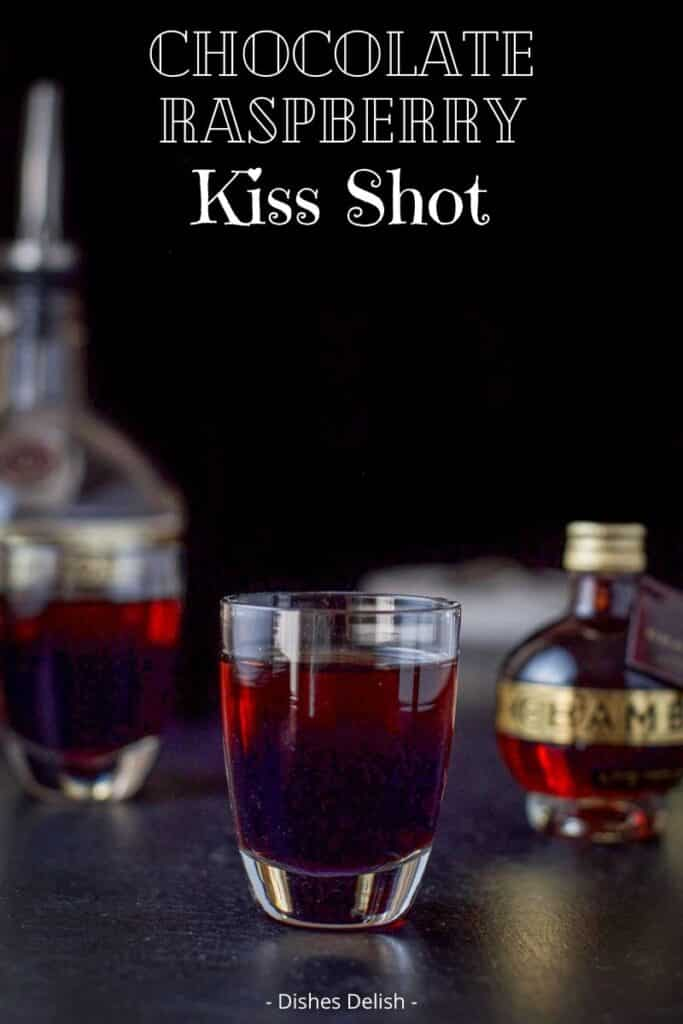 Chocolate Raspberry Kiss Shot for Pinterest 2