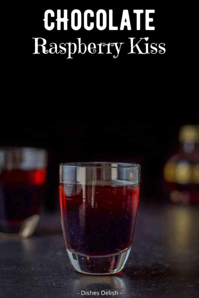 Chocolate Raspberry Kiss Shot for Pinterest 3