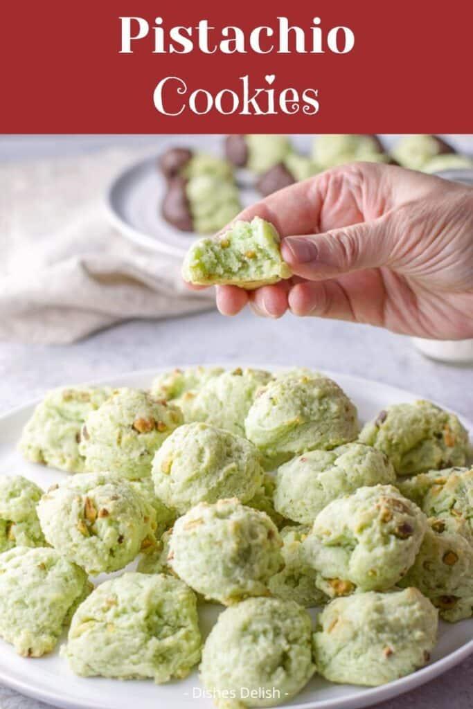 Pistachio Cookies for Pinterest 4