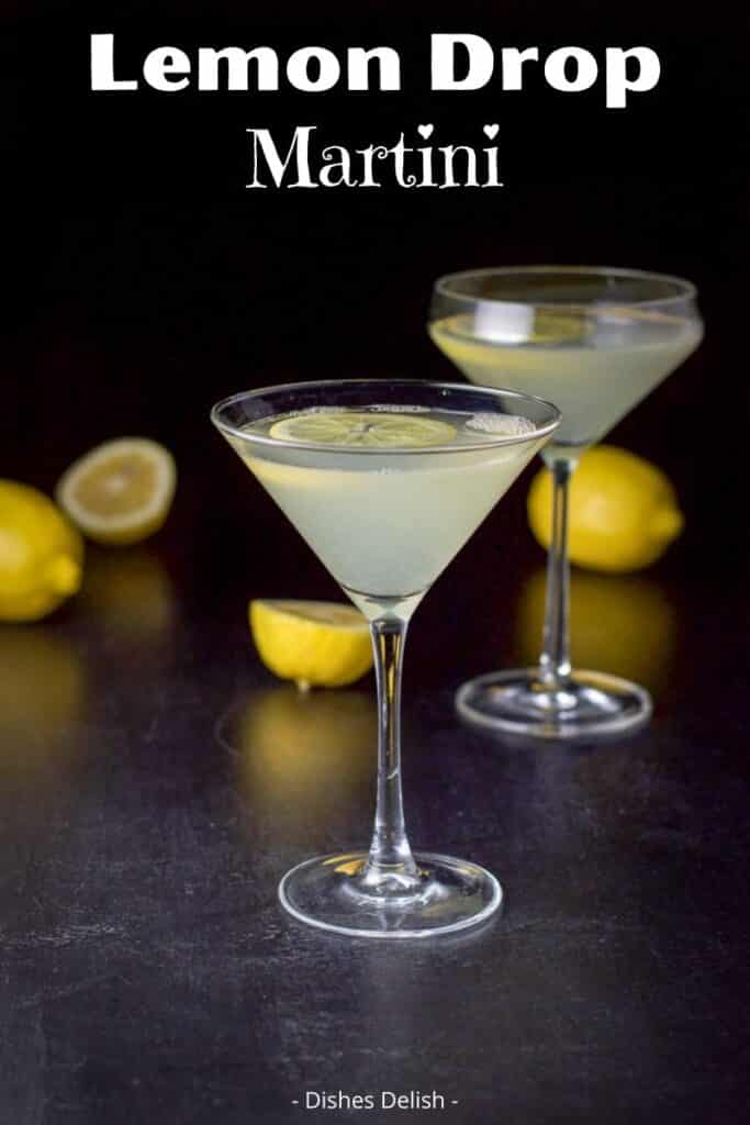 Lemon Drop Martini for Pinterest 2