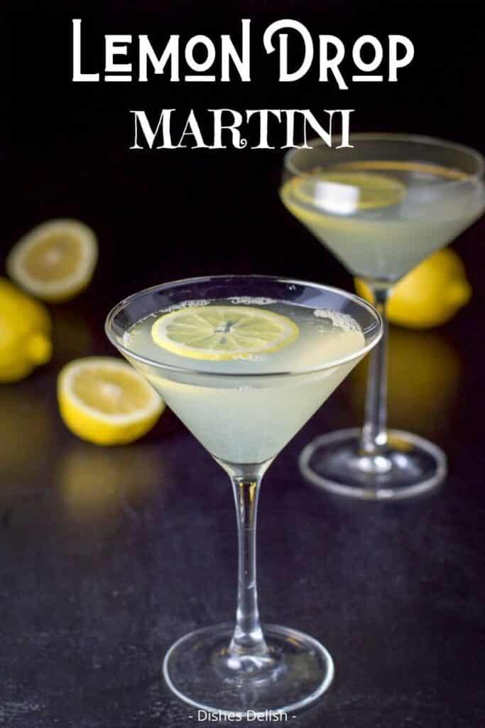 Lemon Drop Martini for Pinterest 3