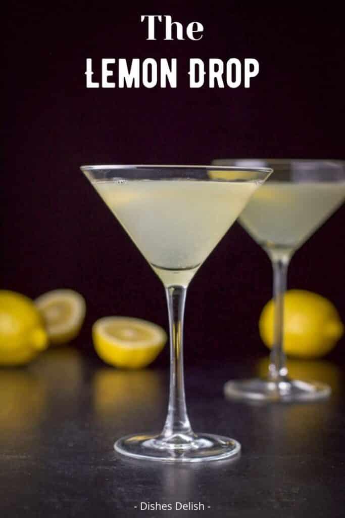 Lemon Drop Martini for Pinterest 4