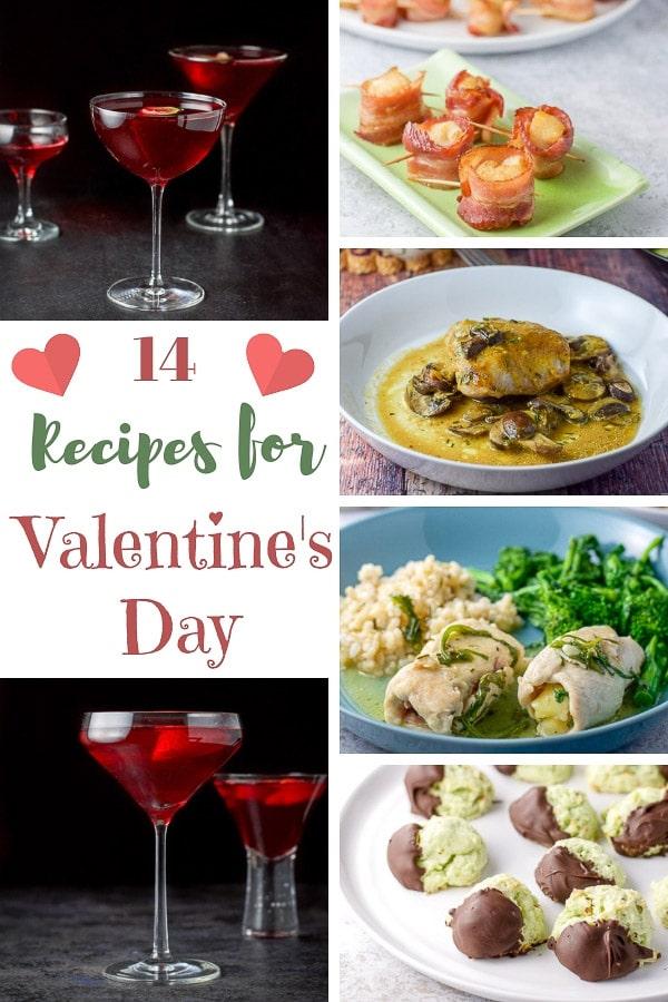 14 Recipes for Valentine's Day for Pinterest