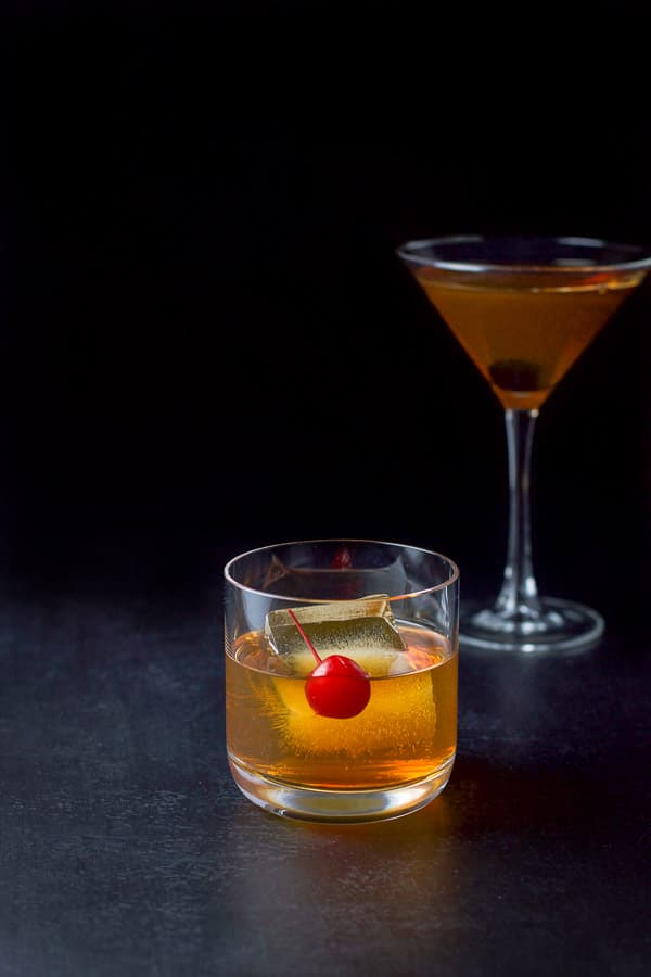 Bourbon Manhattan Cocktail Dishes Delish