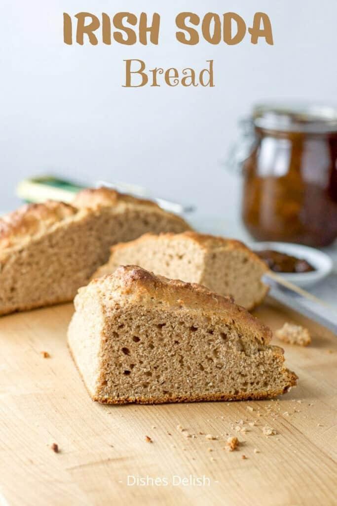 Brown Irish Soda Bread for Pinterest 2