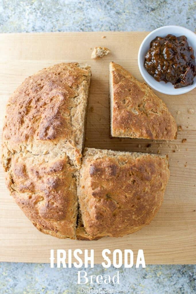 Brown Irish Soda Bread for Pinterest 4