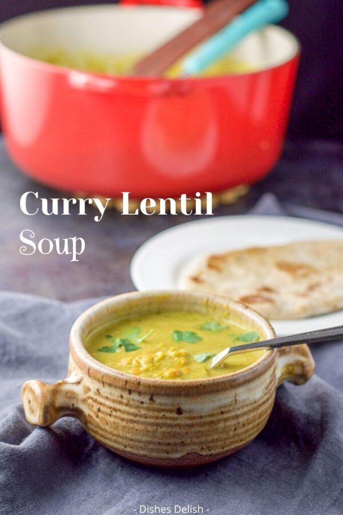 Curry Lentil Soup for Pinterest 4