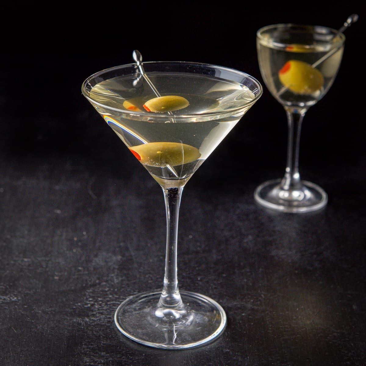 Vodka Dirty Martini Dishes Delish