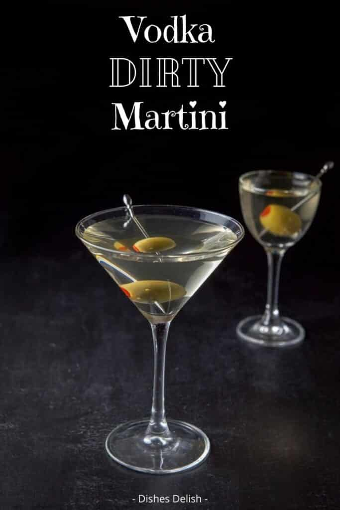 Vodka Dirty Martini for Pinterest 2