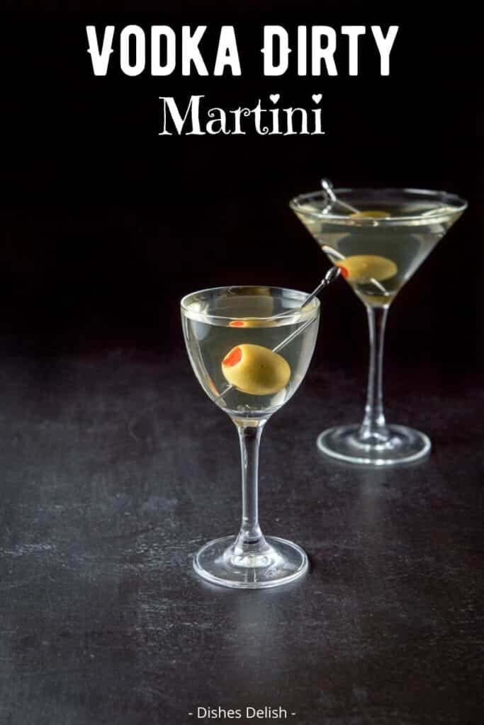 Vodka Dirty Martini for Pinterest 3