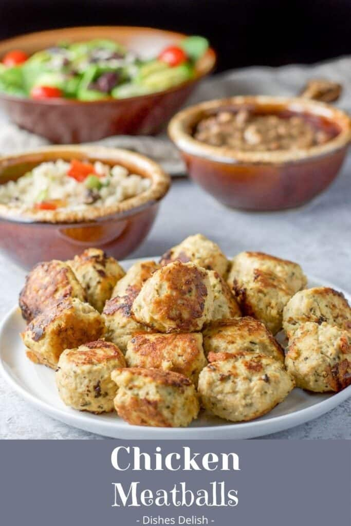 Chicken Meatballs for Pinterest 4