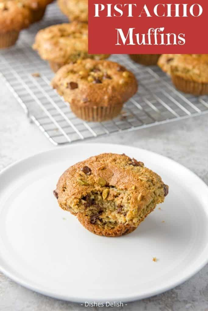 Pistachio Muffins for Pinterest 2