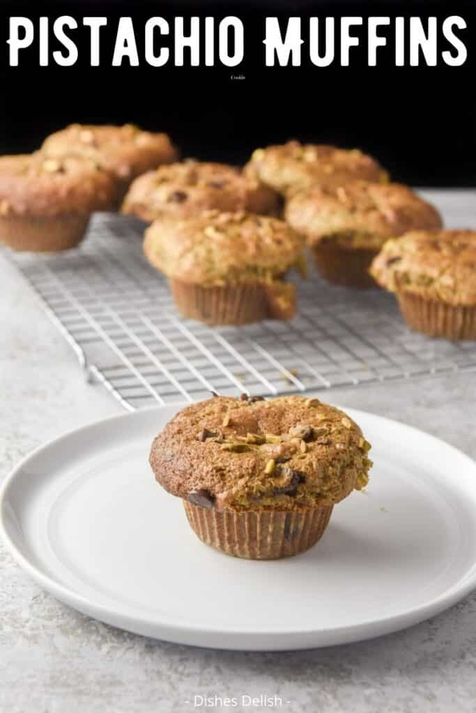 Pistachio Muffins for Pinterest 3