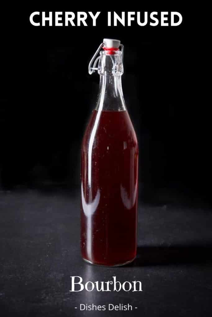 Cherry Infused Bourbon for Pinterest 3