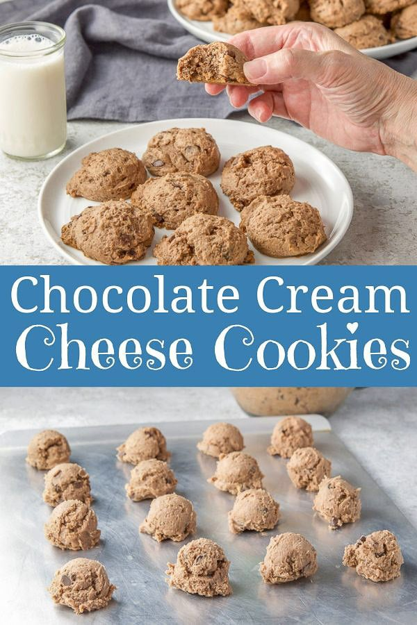 Chocolate Cream Cheese Cookies for Pinterest-1