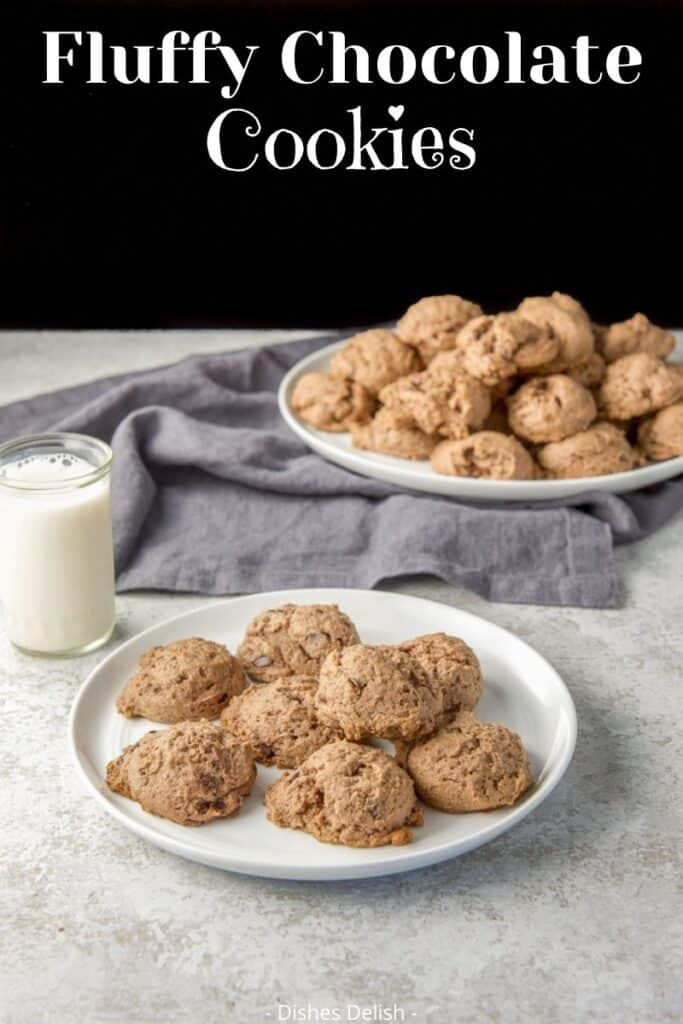 Chocolate Cream Cheese Cookies for Pinterest 4