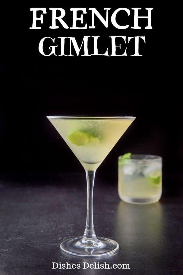 French Gimlet for Pinterest