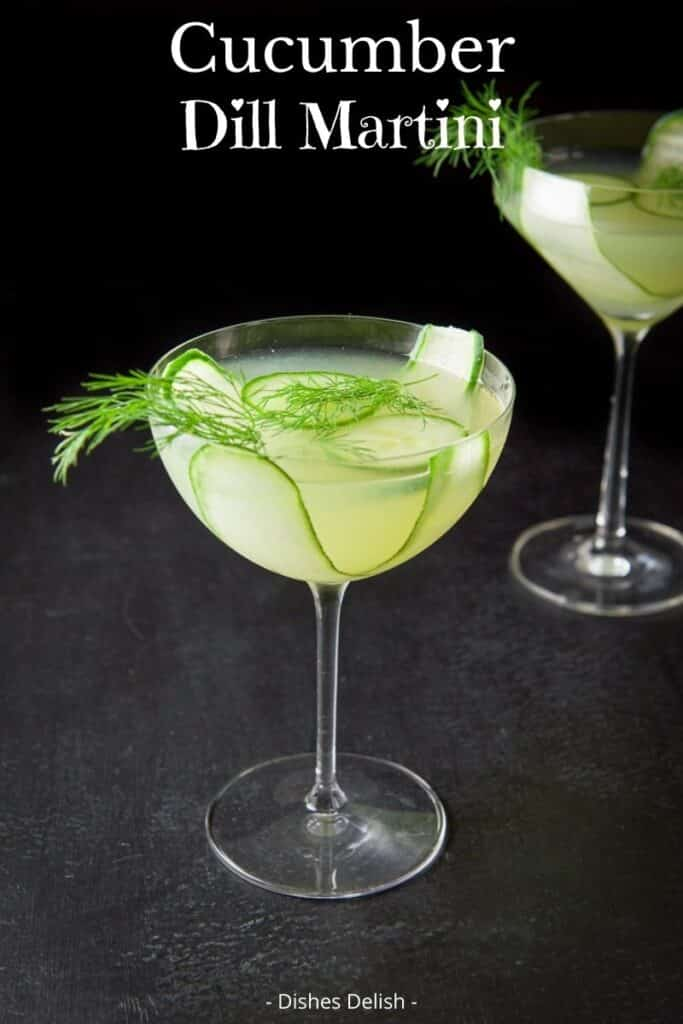 Cucumber Dill Martini for Pinterest 2