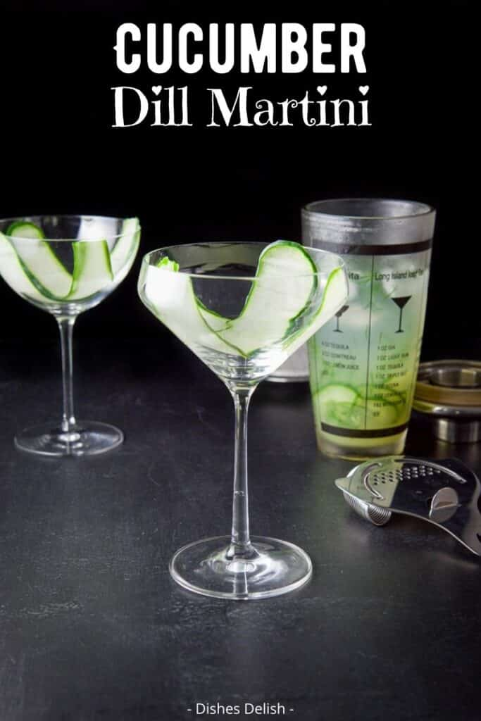 Cucumber Dill Martini for Pinterest 3