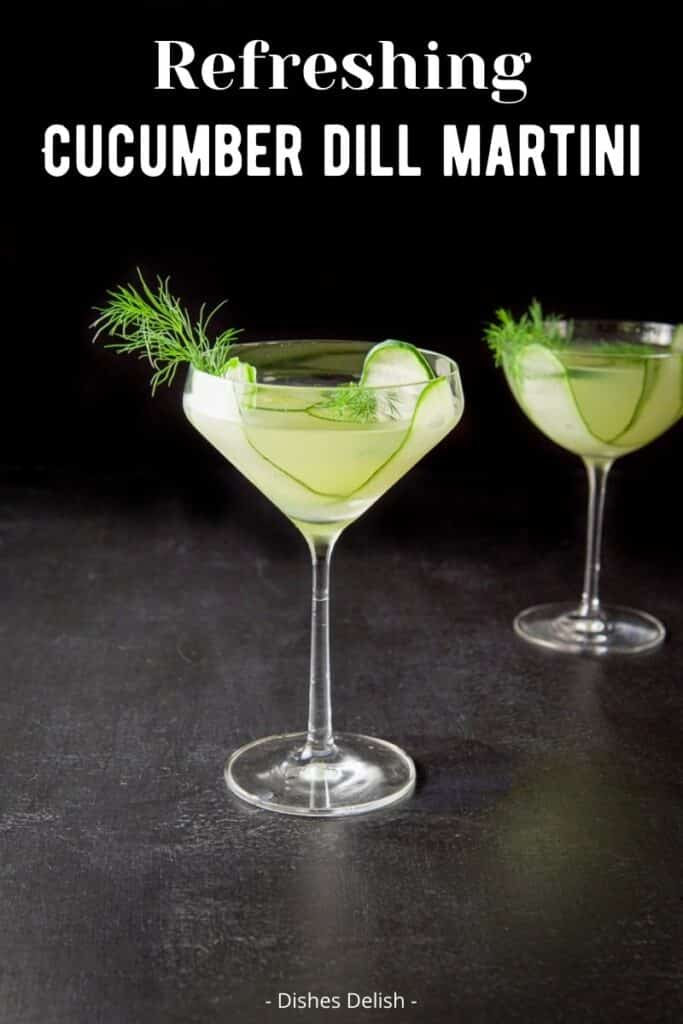 Cucumber Dill Martini for Pinterest 4