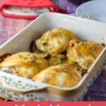 Maple Mustard Chicken Thighs for Pinterest 3