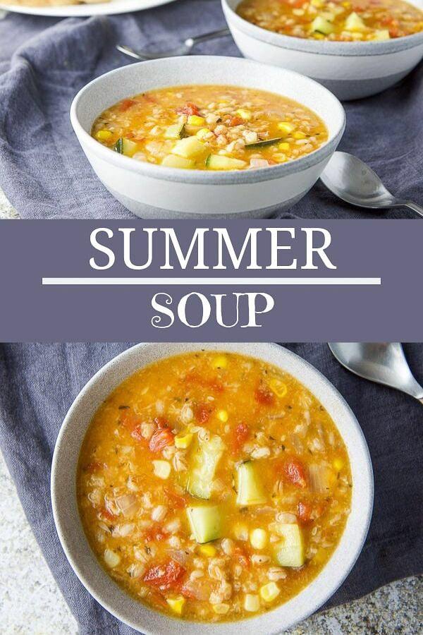 Summer Soup for Pinterest