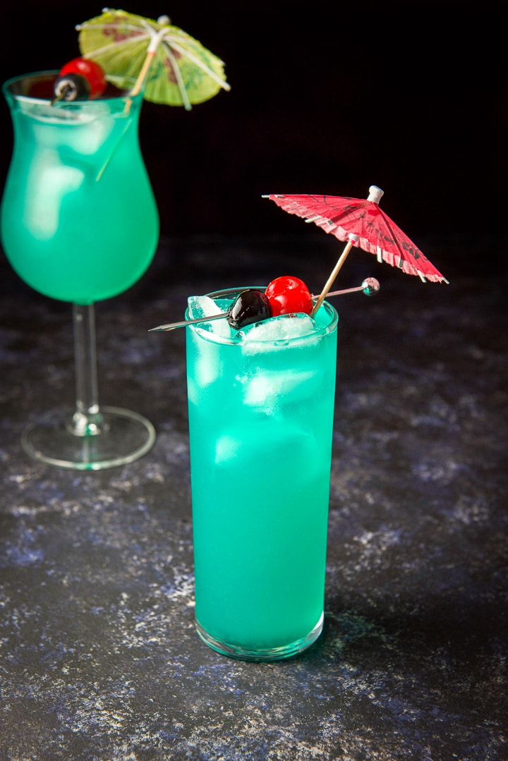 Close up of the sweet poison cocktail