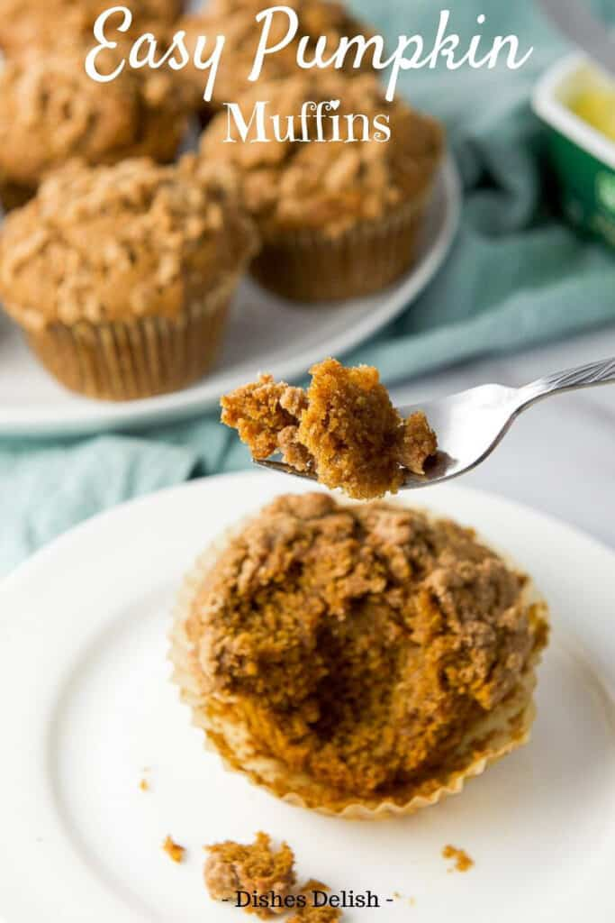 Easy Pumpkin Muffins for Pinterest 5