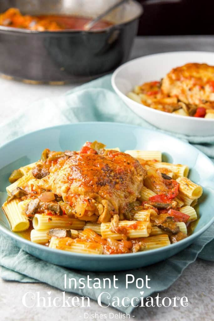Instant Pot Chicken Cacciatore for Pinterest 2