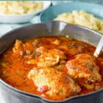 Instant Pot Chicken Cacciatore for Pinterest 4