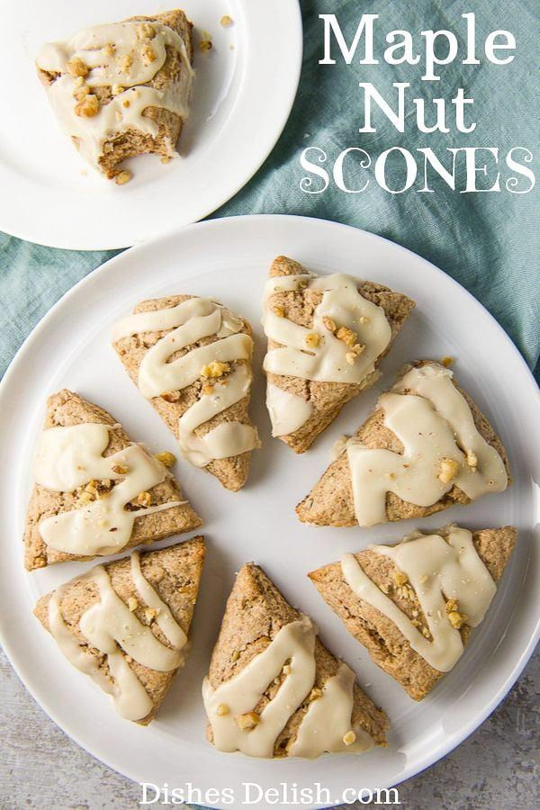Maple Nut Scones for Pinterest