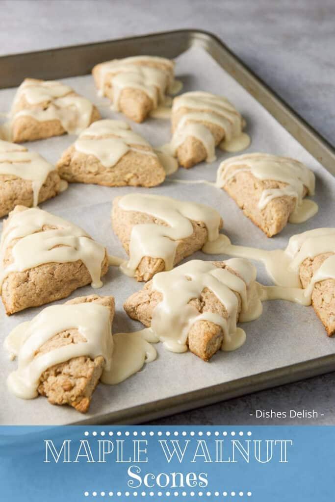 Maple Nut Scones for Pinterest 2