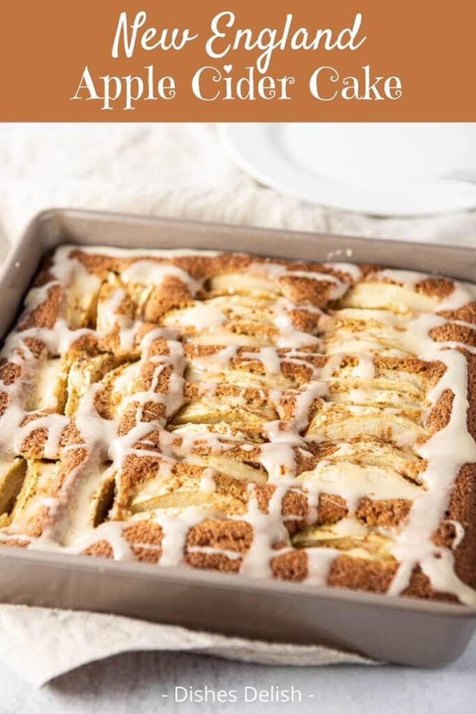 New England Apple Cider Cake for Pinterest 2