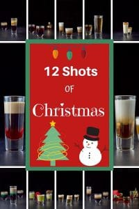 12 Shots of Christmas Collage for Pinterest