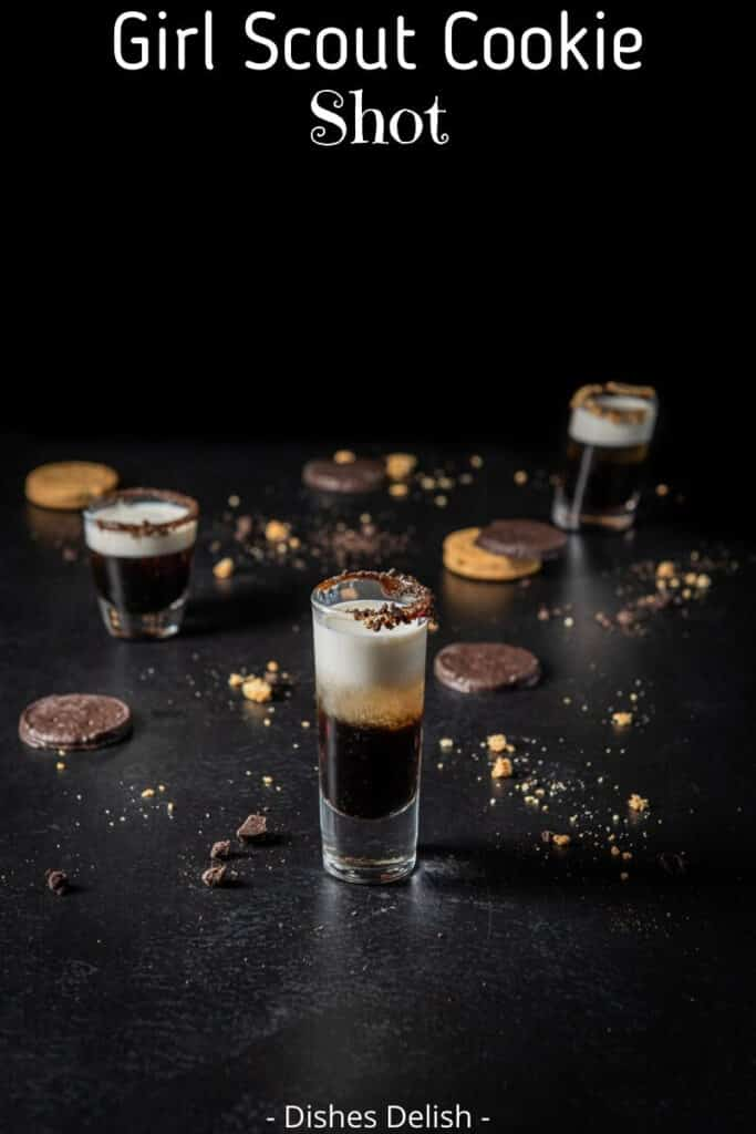 Girl Scout Cookie shot for Pinterest 2