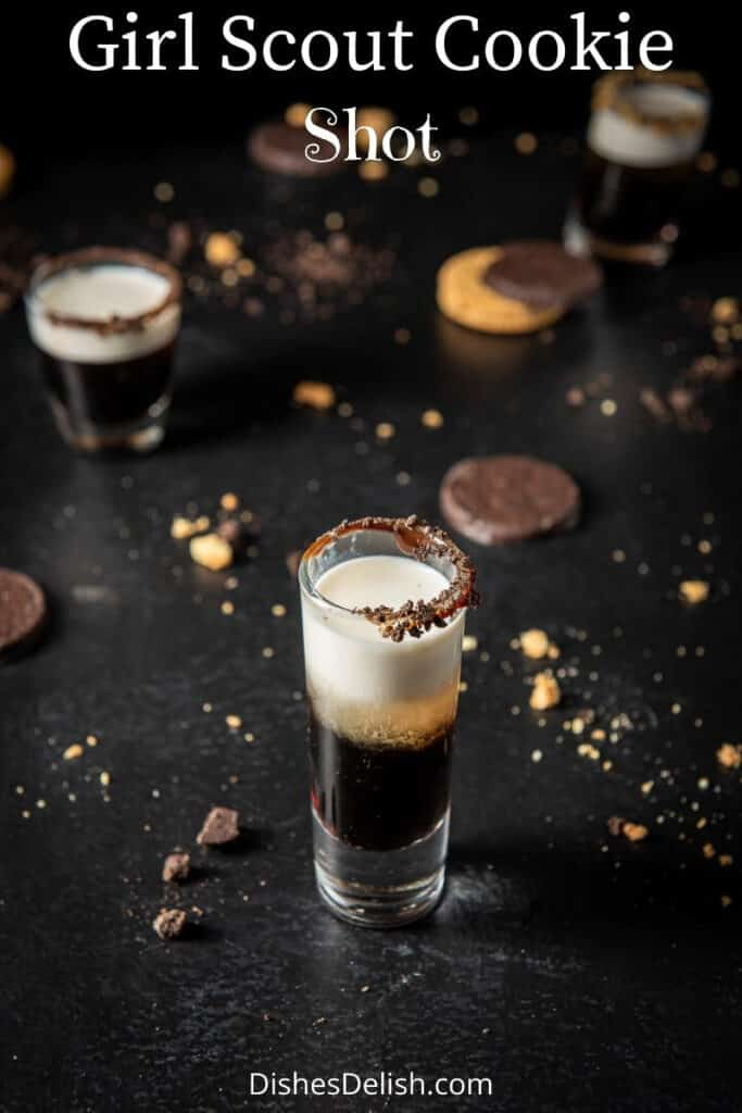 Girl Scout Cookie shot for Pinterest 3