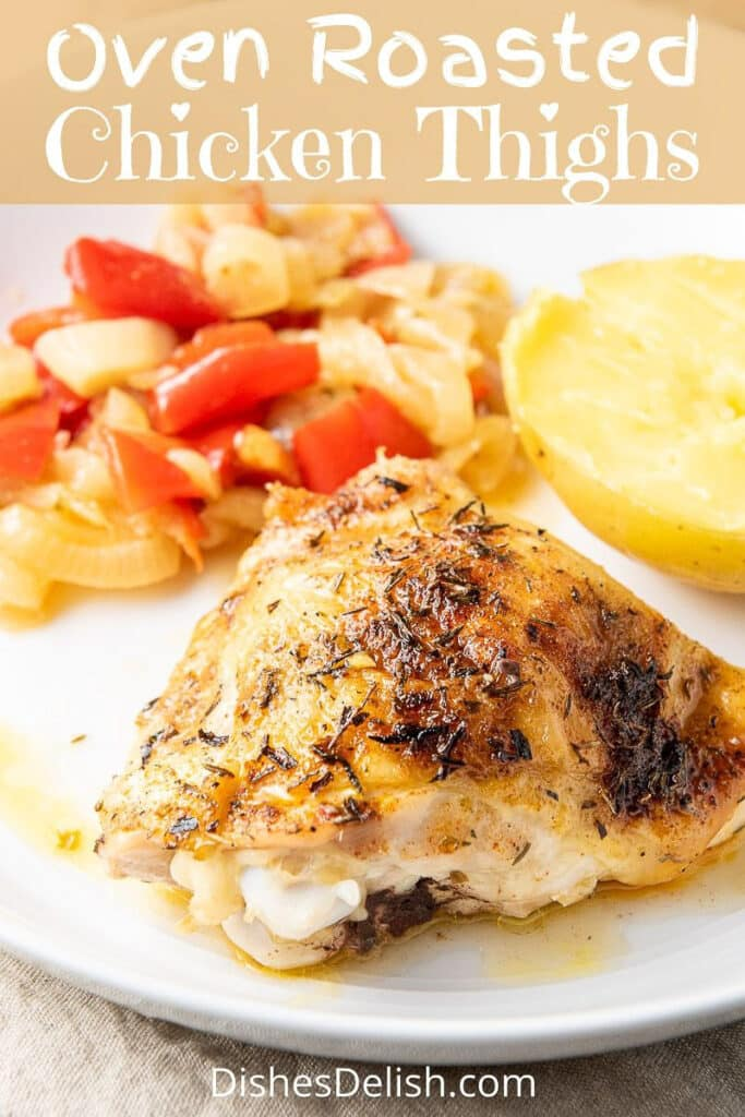 Oven Roasted Chicken Thighs for Pinterest-3