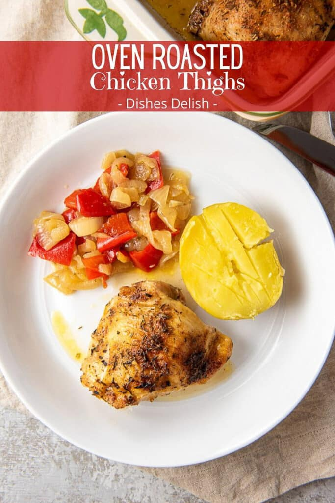 Oven Roasted Chicken Thighs for Pinterest-5