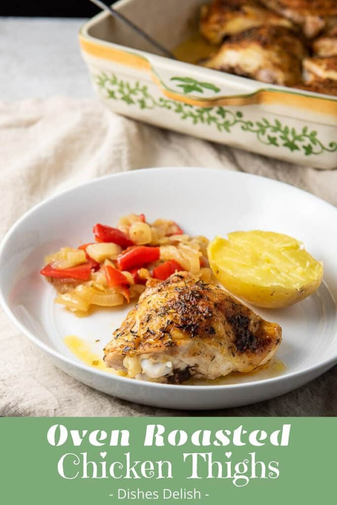 Oven Roasted Chicken Thighs for Pinterest-6