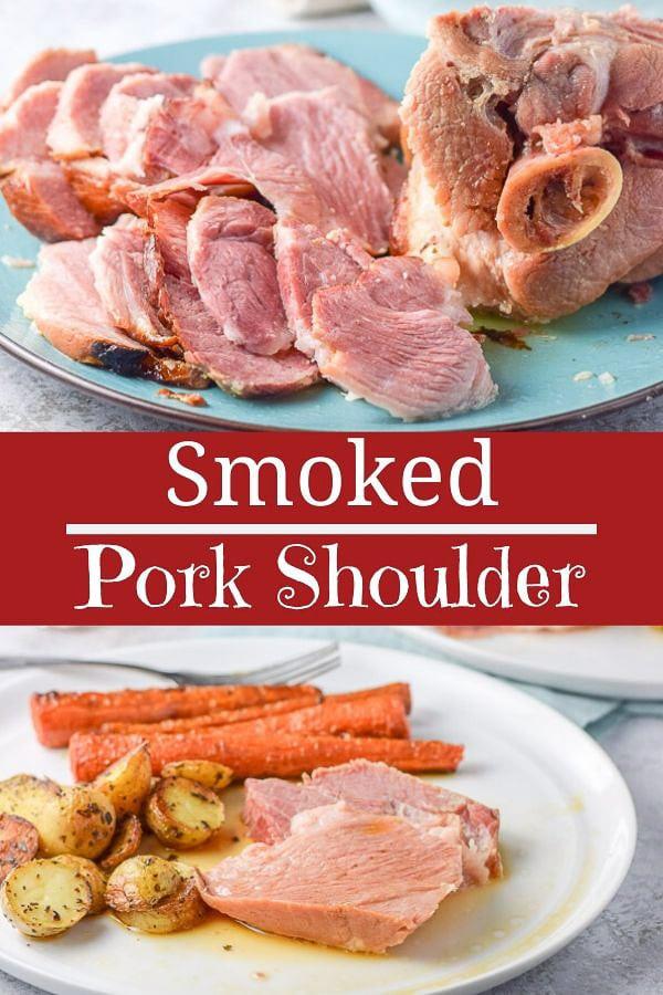 Smoked Pork Shoulder for Pinterest