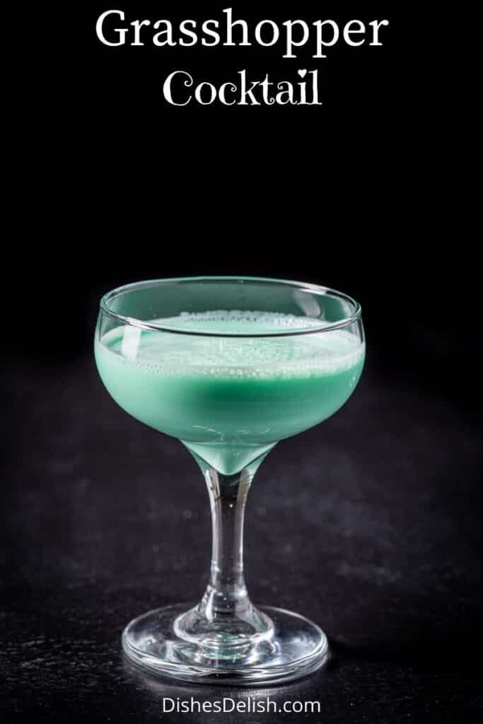 Grasshopper Cocktail for Pinterest