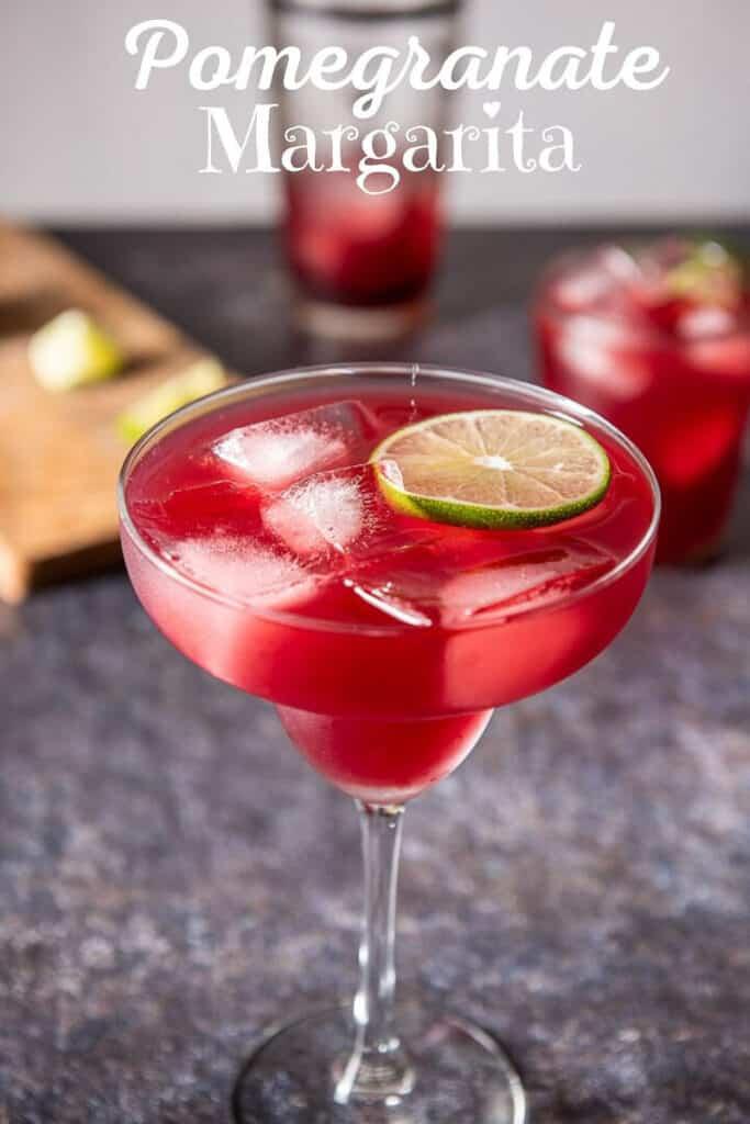 Pomegranate Margarita for Pinterest 2